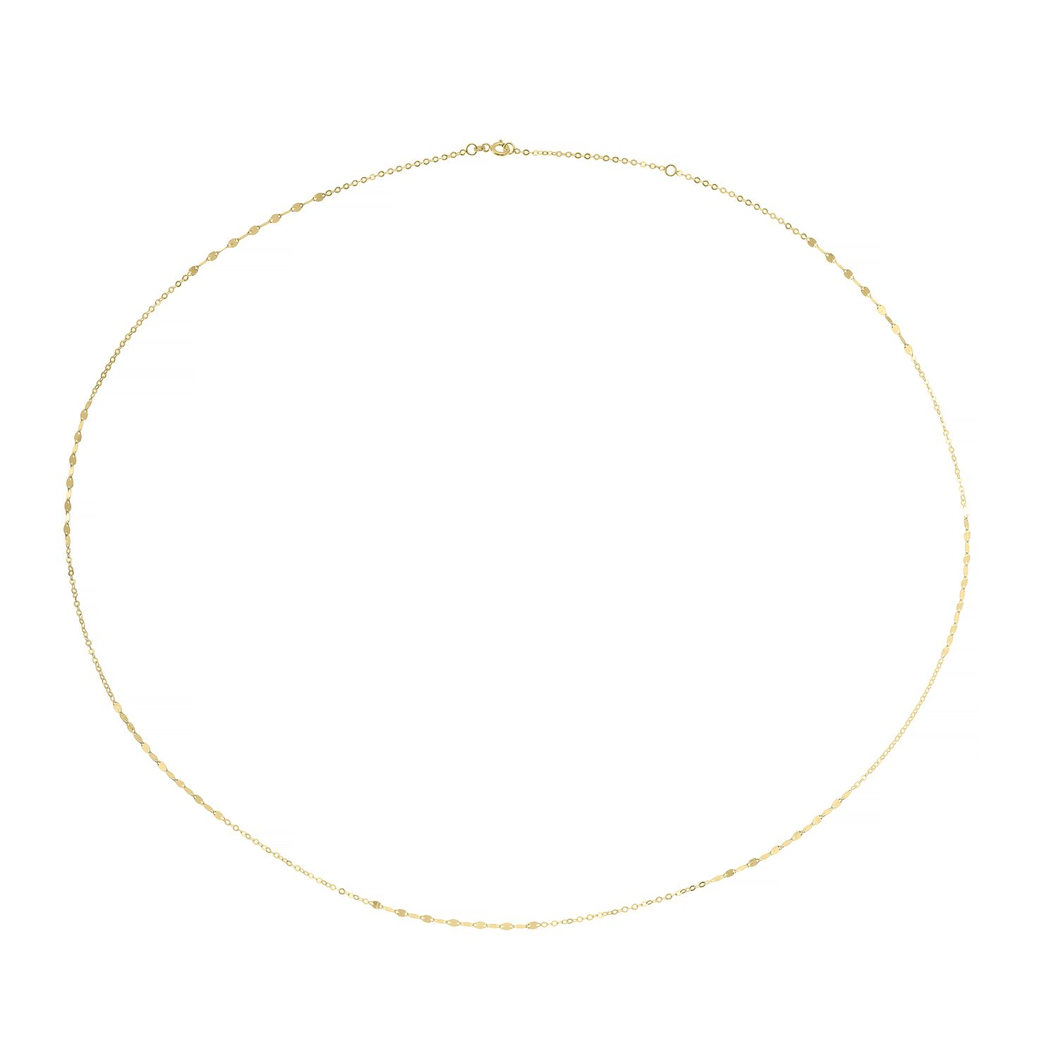 9ct Yellow Gold Fancy Link 30 inches Necklace - Product number 4672267