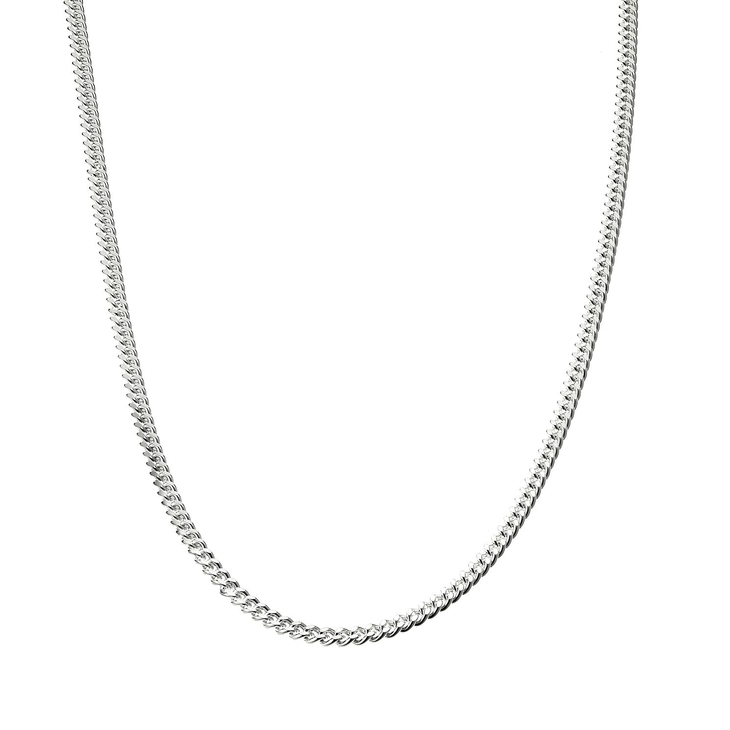 Sterling Silver Curb Chain 24