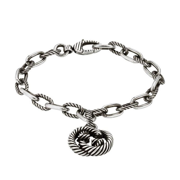 Gucci Ladies' Silver Interlocking G Bracelet - Product number 4677358