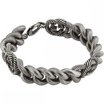 Gucci Ladies' Silver Interlocking G Bracelet - Product number 4677366