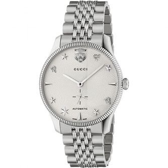 Gucci G-Timeless Stainless Steel Bracelet Watch - Product number 4678028