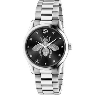 Gucci G-Timeless Stainless Steel Bracelet Watch - Product number 4678222