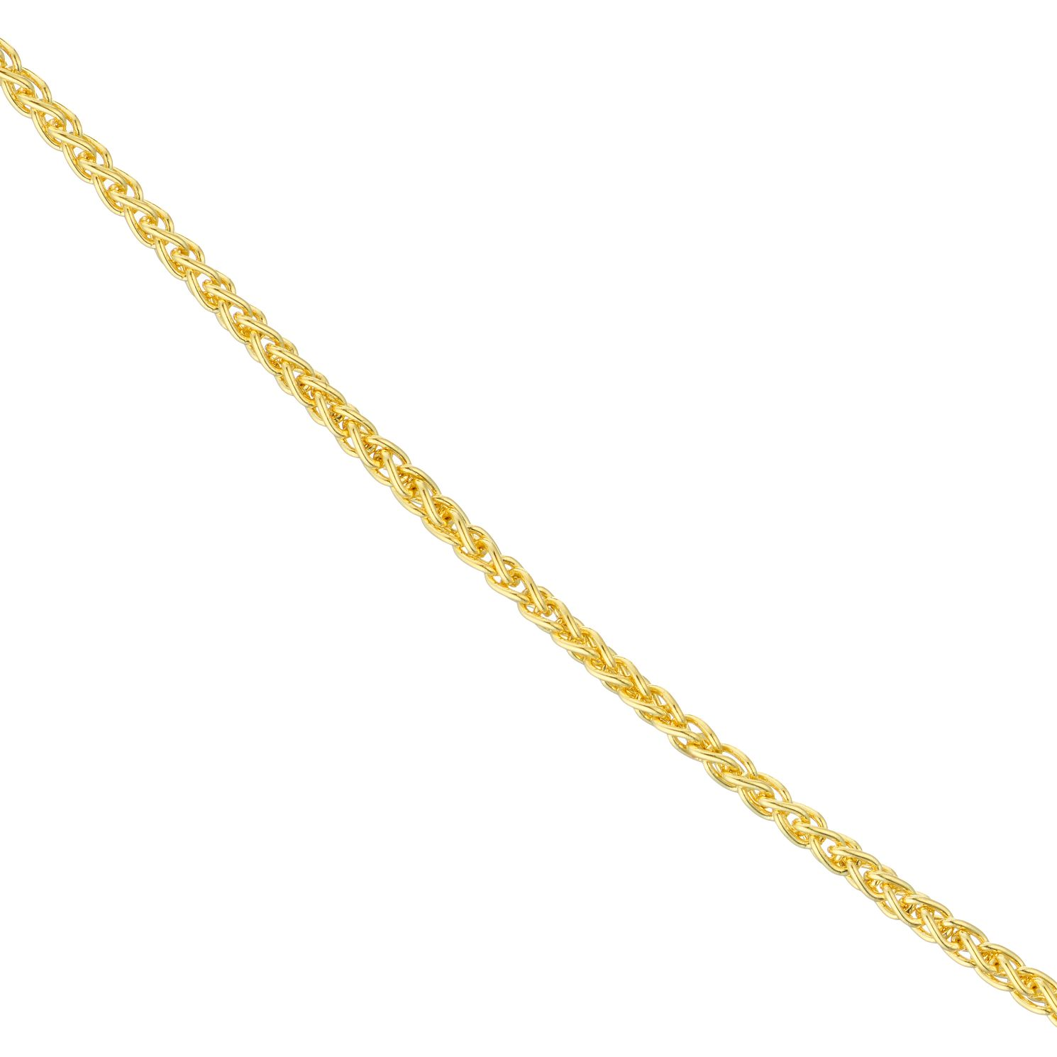 18ct Yellow Gold 18 inches Spiga Chain Necklace - Product number 4681819