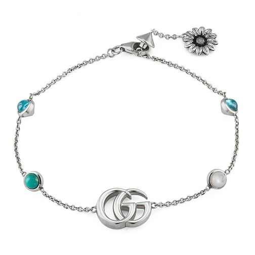 Gucci Silver Marmont Mother of Pearl Bracelet - Product number 4685059