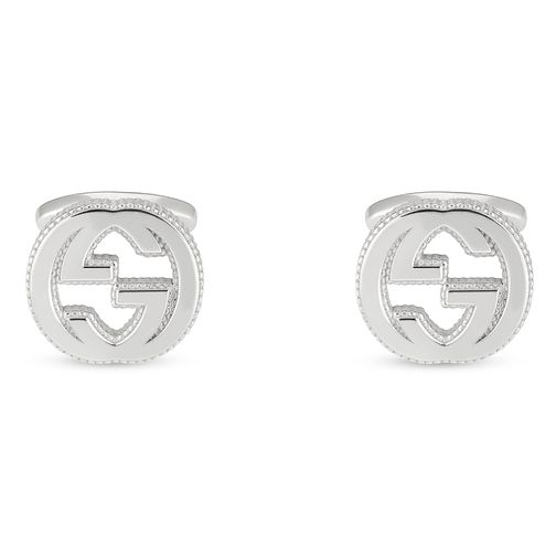 Gucci Interlocking GG Silver Cufflinks - Product number 4685091