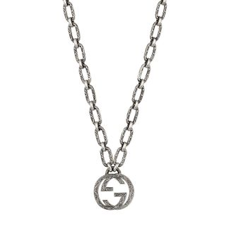 Gucci Silver Interlocking G Pendant - Product number 4685350