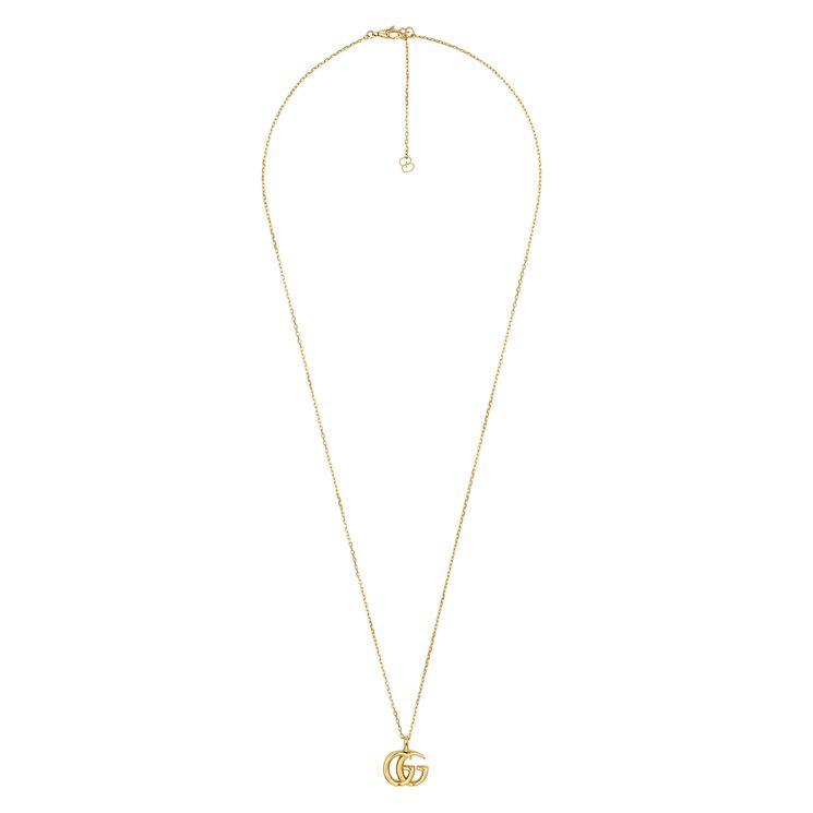 219d649b142 Gucci Interlocking GG Ladies  18ct Gold Pendant - Ernest Jones at Westquay  - Shop Online