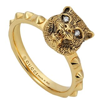Gucci Le Marche Des Merveilles Ladies' 18ct Gold Ring - Product number 4686322