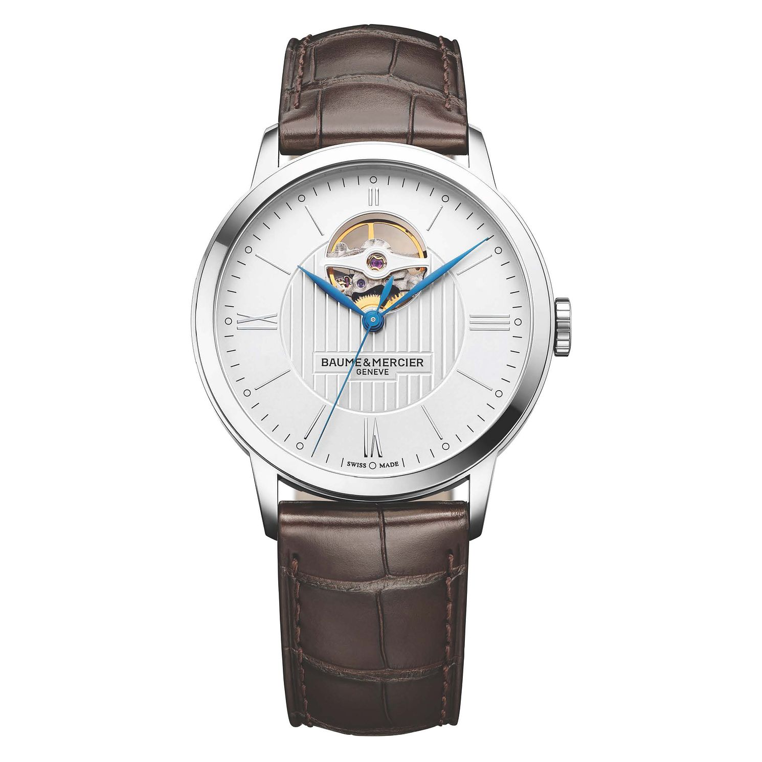 Baume & Mercier Classima Men's Stainless Steel Strap Watch - Product number 4700376