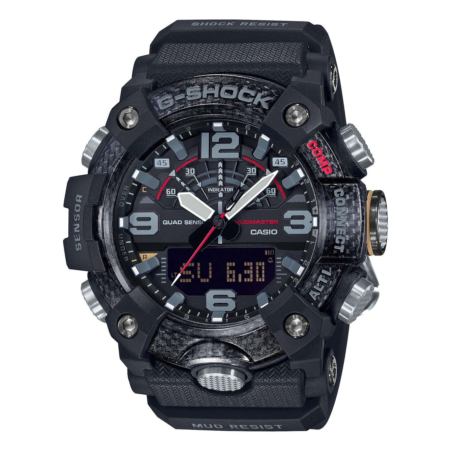 Casio G-Shock Men's Mudmaster Black Rubber Strap Watch - Product number 4701593