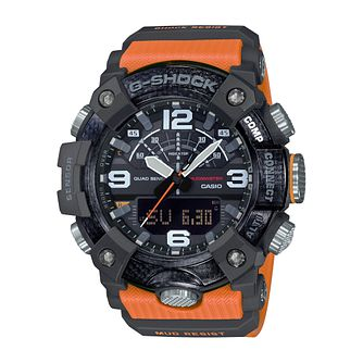 Casio G-Shock Men's Mudmaster Orange Rubber Strap Watch - Product number 4701658