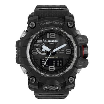 Casio G-Shock Mudmaster Men's Black Resin Strap Watch - Product number 4701712