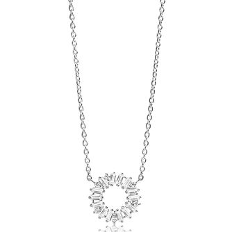 Sif Jakobs Antella Circolo White Zirconia Necklace - Product number 4702182