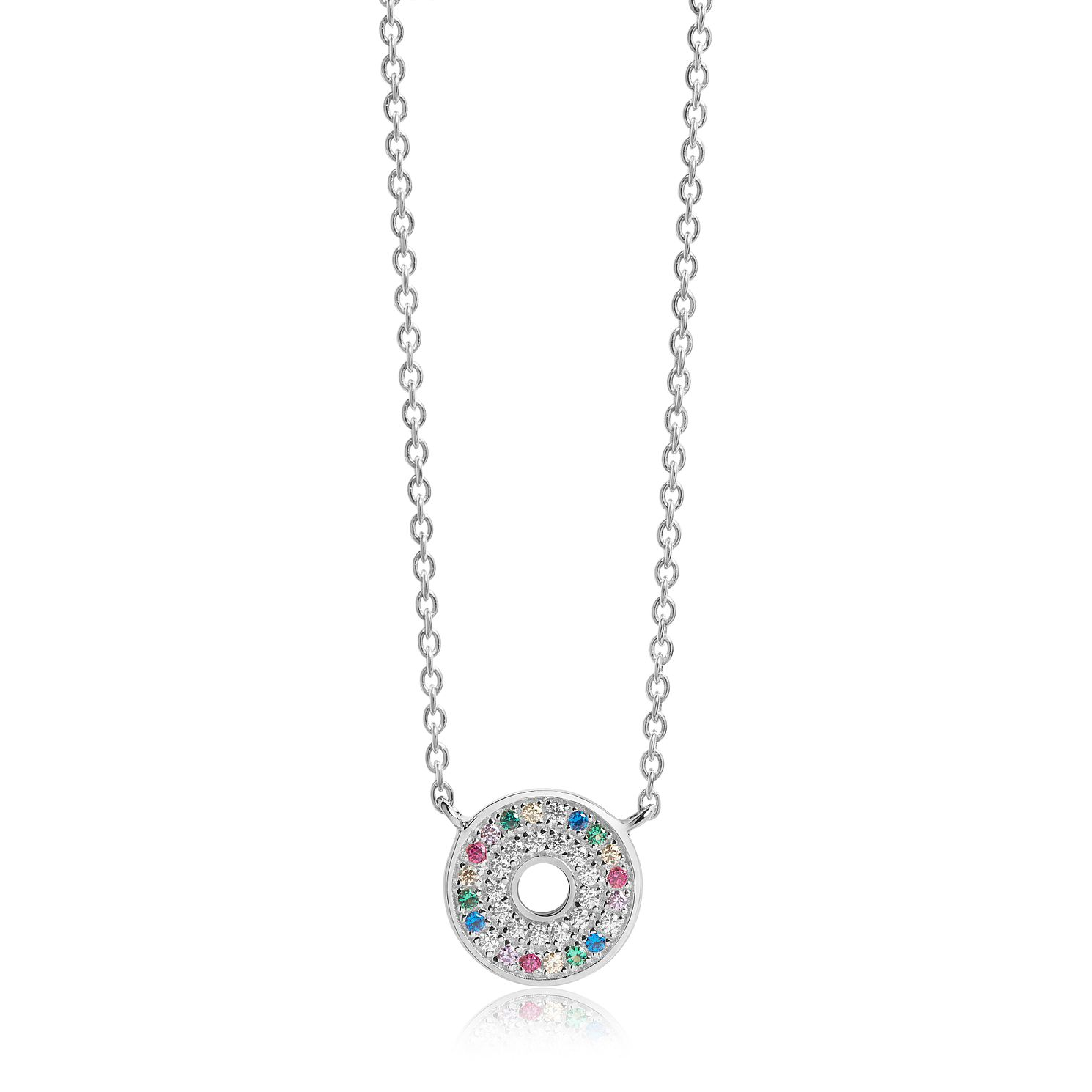 Sif Jakobs Valiano Multicolour Zirconia Necklace - Product number 4702220