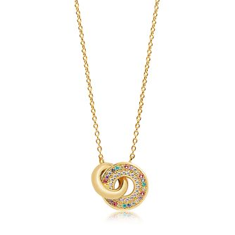 Sif Jakobs Valiano Due Multicolour Zirconia Necklace - Product number 4702255