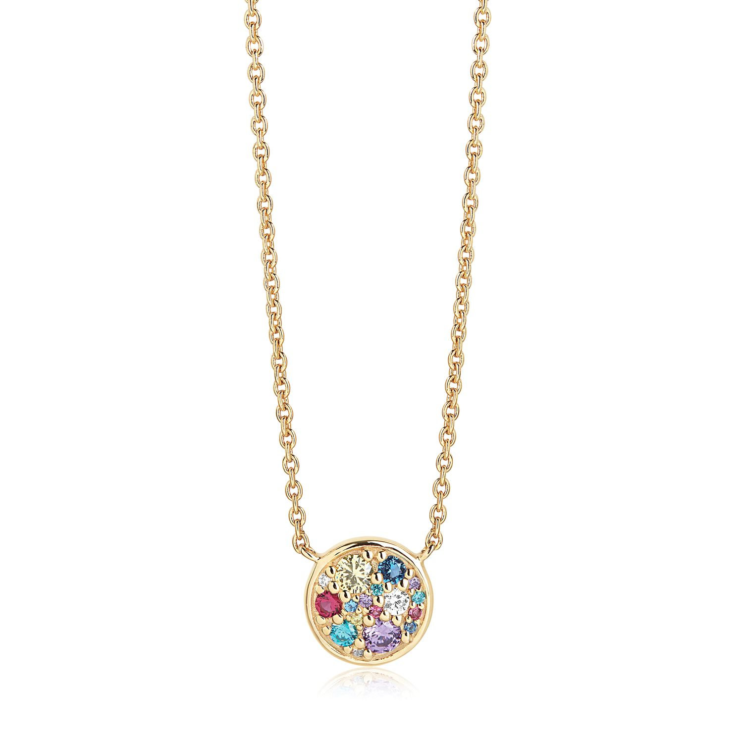 Sif Jakobs Novara Multicoloured Zirconia Necklace - Product number 4702263