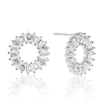 Sif Jakobs Antella Circolo White Zirconia Stud Earrings - Product number 4702271