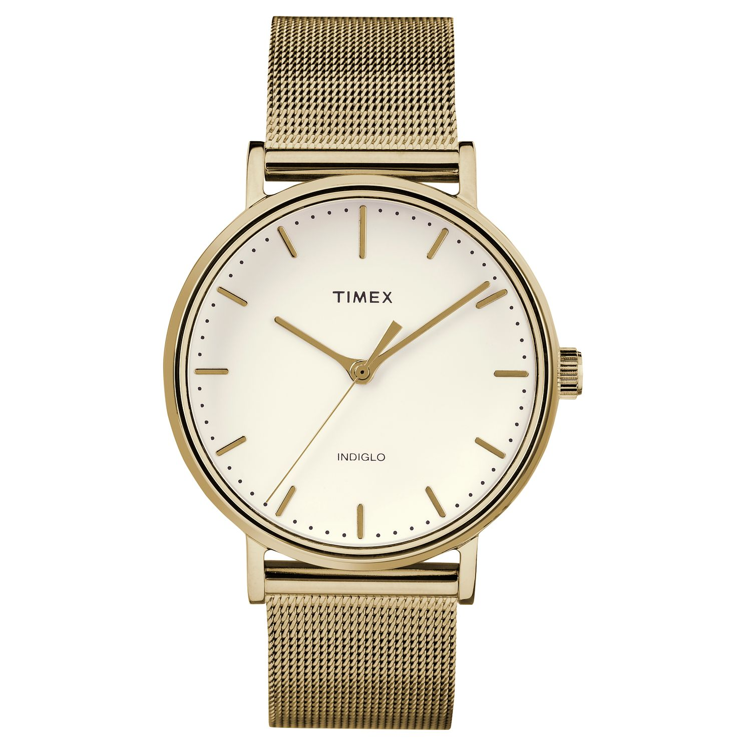 Timex Fairfield Ladies' Yellow Gold Plated Bracelet Watch - Product number 4702522