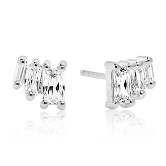 Sif Jakobs Antella Tre White Zirconia Stud Earrings - Product number 4702697