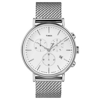 Timex Fairfield Men's Stainless Steel Bracelet Watch - Product number 4702778