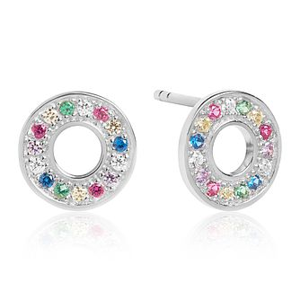 Sif Jakobs Valiano Multicolour Zirconia Stud Earrings - Product number 4702816
