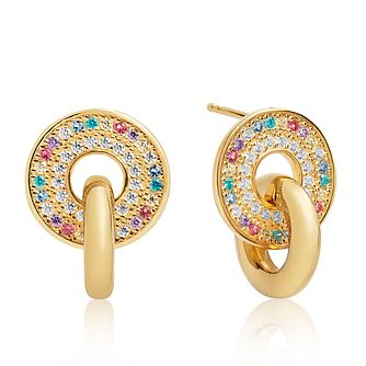 Sif Jakobs Valiano Due Multicolour Zirconia Stud Earrings - Product number 4702867