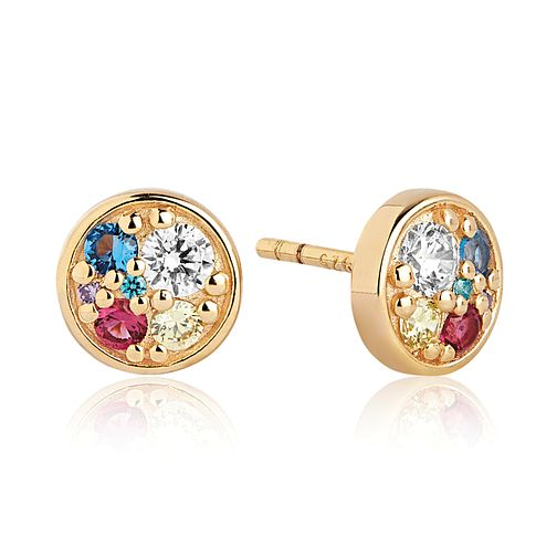 Sif Jakobs Novara Multicolour Zirconia Stud Earrings - Product number 4702875