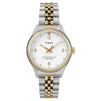 Timex Waterbury Ladies' Two Colour Bracelet Watch - Product number 4703189