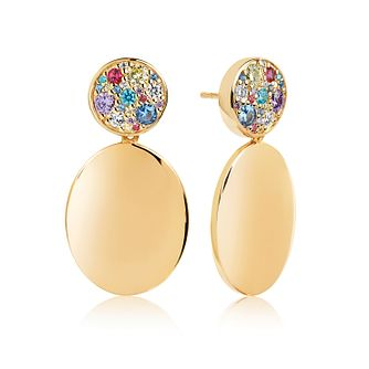 Sif Jakobs Novara Uno Grande Multicolour Zirconia Earrings - Product number 4703197