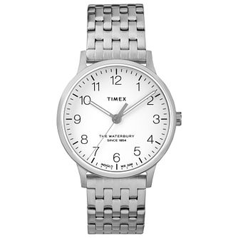 Timex Waterbury Ladies' Stainless Steel Bracelet Watch - Product number 4703235