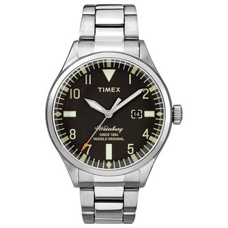 Timex Waterbury Men's Stainless Steel Bracelet Watch - Product number 4703308