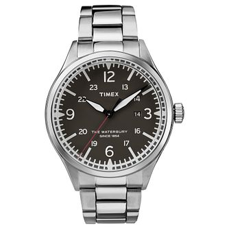 Timex Waterbury Men's Stainless Steel Bracelet Watch - Product number 4703383
