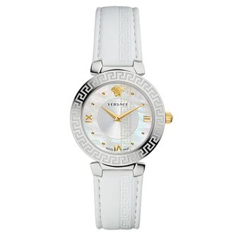 Versace Daphnis Ladies' Mother Of Pearl Strap Watch - Product number 4703634