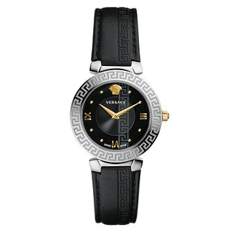 Versace Daphnis Ladies' Black Strap Watch - Product number 4704878