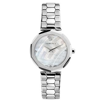 Versace Idyia Ladies' Mother Of Pearl Bracelet Watch - Product number 4705238