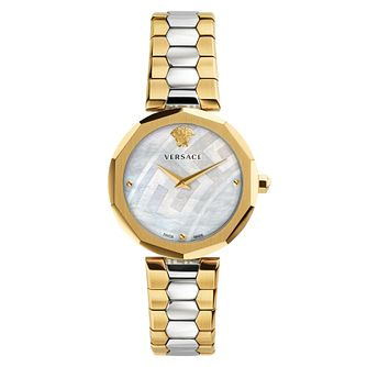 Versace Idyia Ladies' Two Colour Bracelet Watch - Product number 4705246