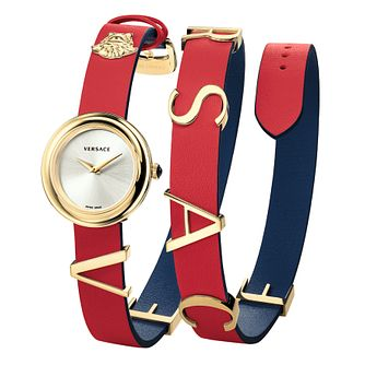 Versace V-Flare Ladies' Multicoloured Strap Watch - Product number 4705459