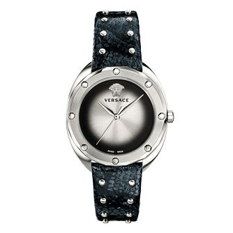 Versace Shadov Ladies' Dark Blue Strap Watch - Product number 4705858