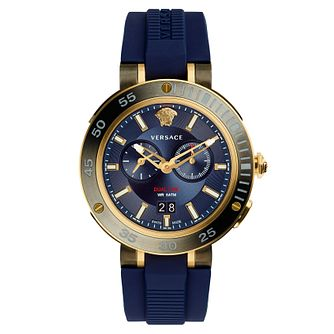 Versace V-Extreme Pro Men's Two Colour Blue Strap Watch - Product number 4711564