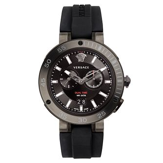 Versace V-Extreme Pro Men's Two Colour Black Strap Watch - Product number 4711637