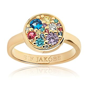 Sif Jakobs Novara Multicolour Zirconia Ring - Product number 4714830