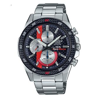 Casio Scuderia Toro Rosso Stainless Steel Bracelet Watch - Product number 4715276