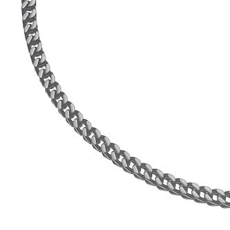 Stainless Steel Square Chain Necklace - Product number 4717090
