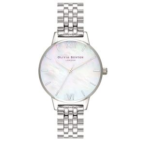 Olivia Burton Stainless Steel Mother of Pearl Watch - Product number 4718666