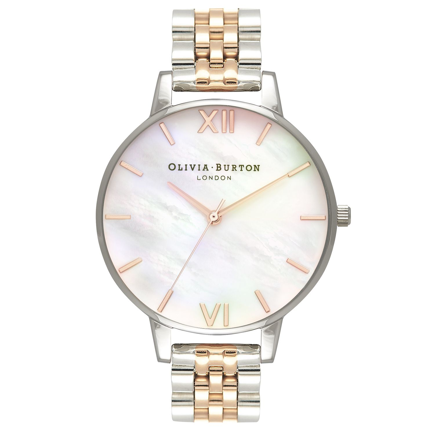Olivia Burton Two Colour Mother of Pearl Bracelet Watch - Product number 4718682