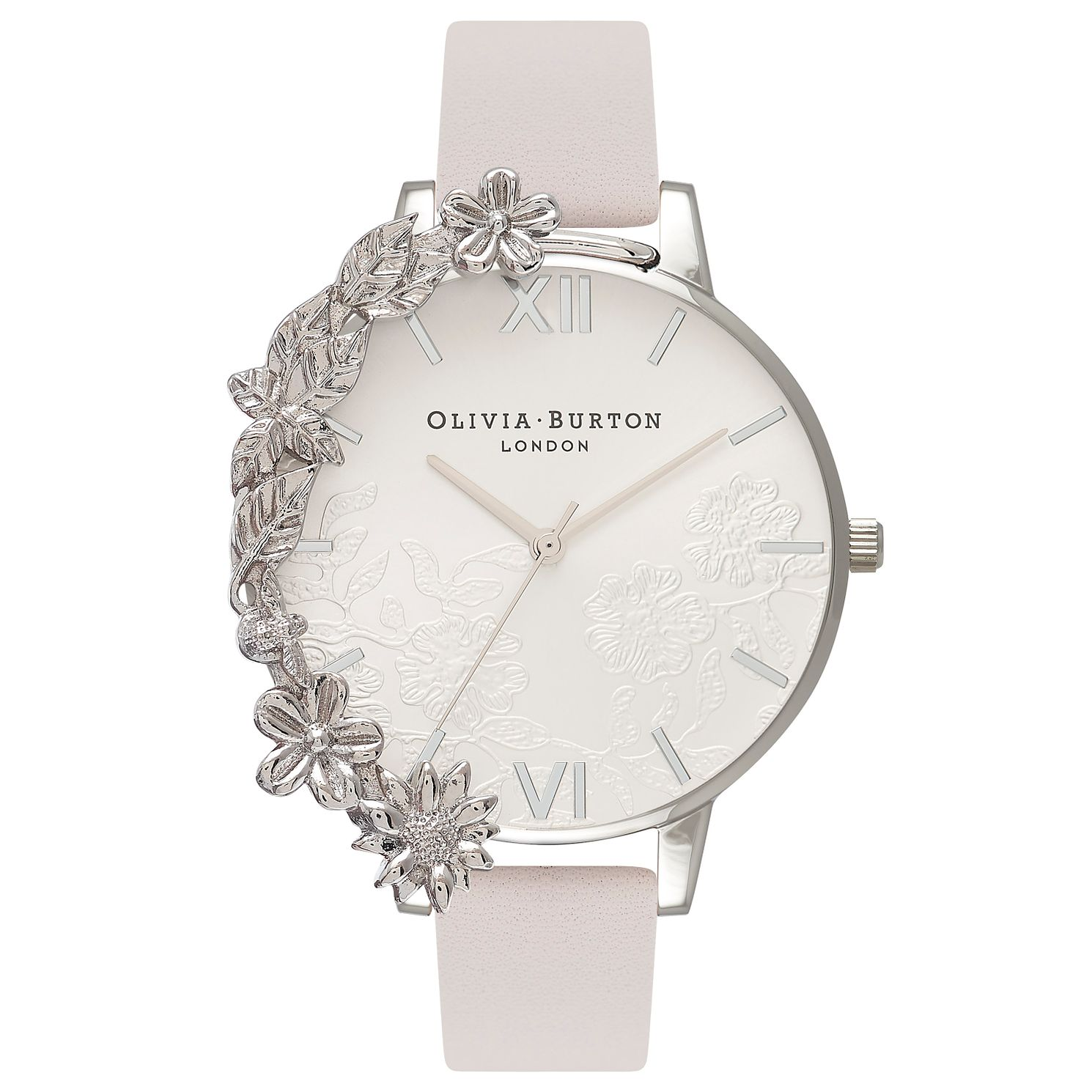 Olivia Burton Stainless Steel Cuff Silver Bracelet Watch - Product number 4718704