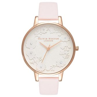 Olivia Burton Rose Gold Plated Artisan Strap Watch - Product number 4719107