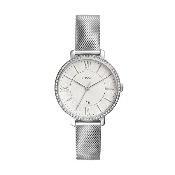 Fossil Jacqueline Stainless Steel Mesh Bracelet Watch - Product number 4719875