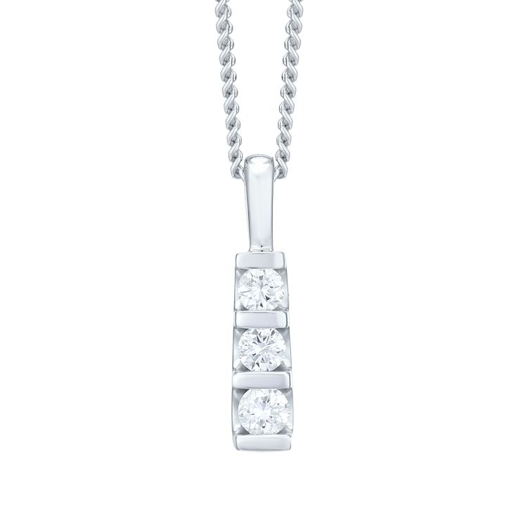 diamond necklaces diamond pendants ernest jones