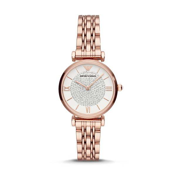 Emporio Armani Rose Gold Tone Bracelet Watch - Product number 4720652